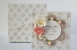 Kartka ślubna z personalizacją i pudełko 15