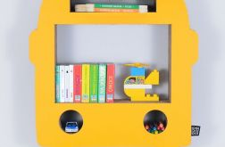 Półka na książki AUTOBUS | żółty