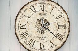Zegar Ścienny Vintage Rustykalny Na Prezent