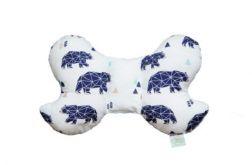 Poduszka Podróżna niedźwiedzie - baby blue