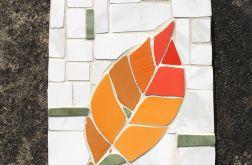 Deska z liściem