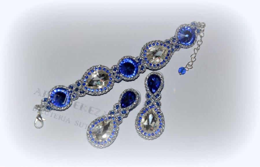 elegancka biżuteria kryształowa na prezent
