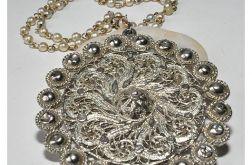 17 elegancki, ciekawy naszyjnik vintage;