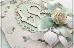 Kartka na Ślub z napisem LOVE 3