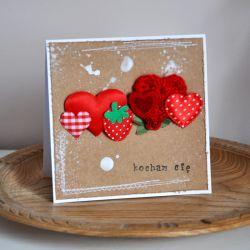 Walentynka - sznur serc 5