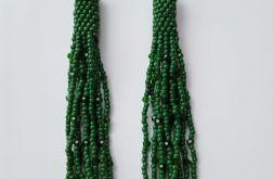 Kolczyki zwisające AMELIA z koralików TOHO