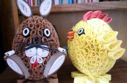 zajączek i kurczak