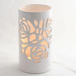 Lampa ceramiczna Róża led
