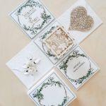 Kartki ślubne Exploding box ślubny #0005a - Kartka ślubna od chrzestnego