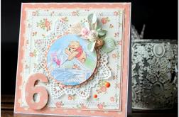 Kolorowa kartka urodzinowa z liczbą #13