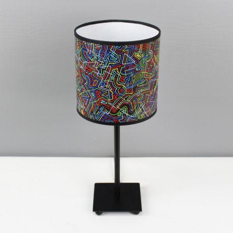 """Kolorowa lampa stojąca nocna """"łAMIEŁUKI"""" S"""