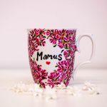 Kubek Dla Mamy - porcelana ręcznie malowana