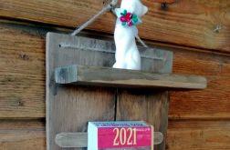 eko Organizer z kalendarzem, półką, magnesem