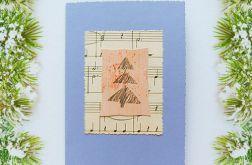 Kartka  świąteczna minimalizm 1
