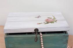 Kufer na biżuterię z przekładką (wers2)