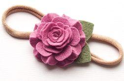 Opaska do włosów z kwiatuszkiem CAMELIA