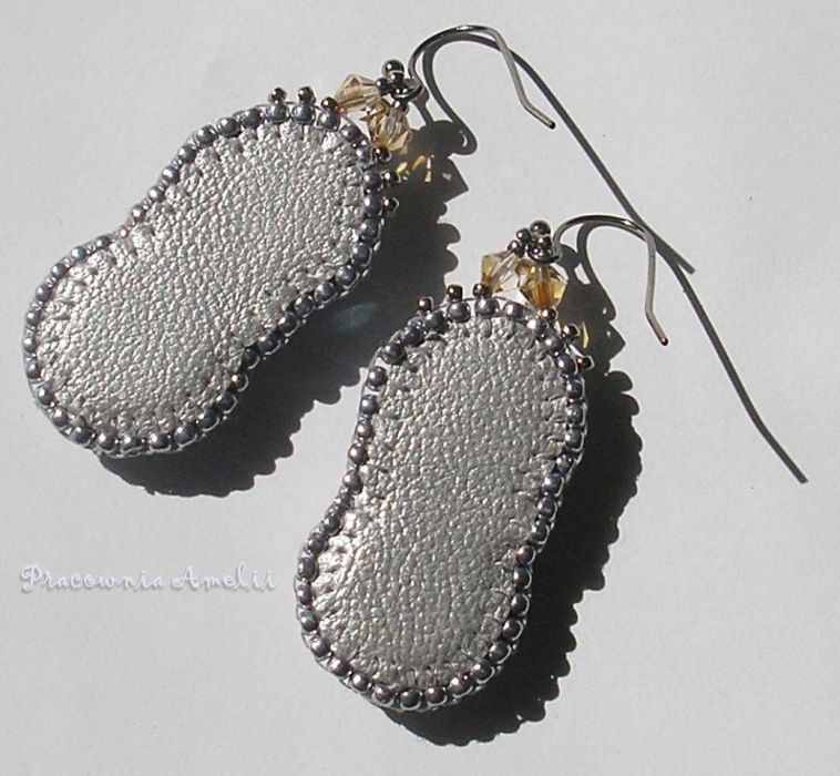 glamour beaded embroidery Swarovski