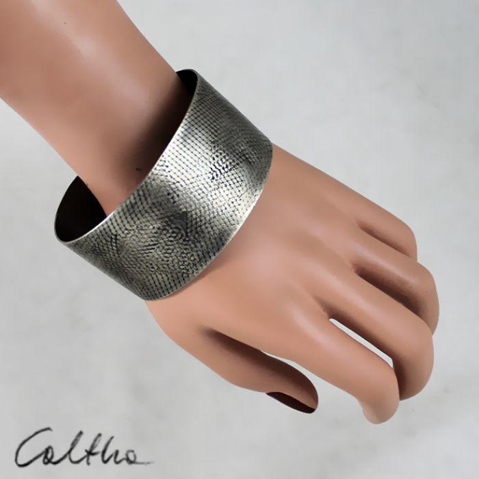 Wężowa - metalowa bransoleta 150425-01