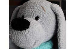 Bąbelek szydełkowy pies
