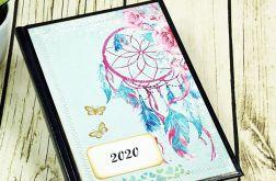 Kalendarz 2020 - łapacz snów i motyl