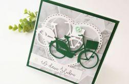 Rowery - kartka ślubna