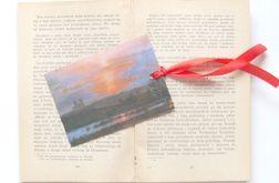 Zakładka do książki - zachód słońca 2