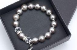 Bransoletka z pereł Perła Silver 04