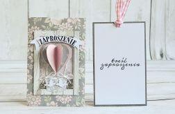Wyjątkowe zaproszenie ślubne