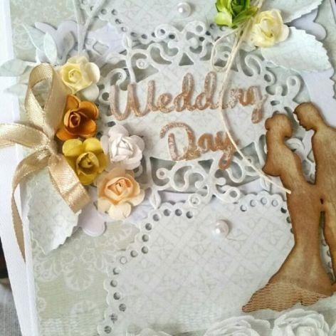 Kartka ślubna z kopertą