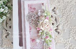 Ślubna kartka w pudełku 331
