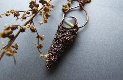 Lagertha - naszyjnik z opalem