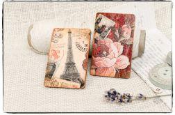 Komplet magnesów na lodówkę ~Paris, Paris...~