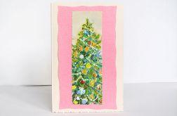 Kartka świąteczna - choinka 3