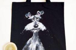 pies malowany