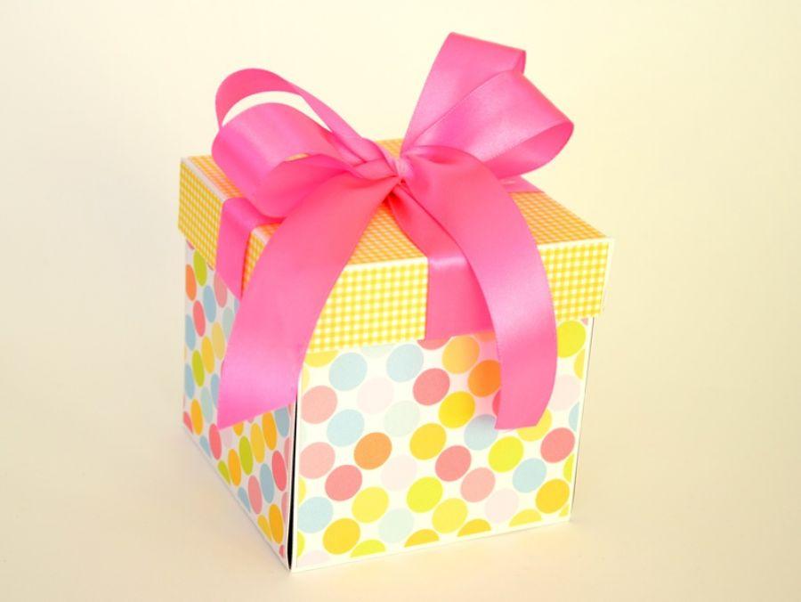 KOLOROWY BOX wersja dziewczęca - Kolorowo mi