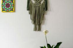 Makrama na ścianę, dekoracja boho MS064