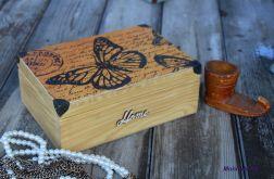Pudełko na pamiątki, szkatułka prezent