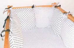 Modułowy ochraniacz do łóżeczka 6 szt N40