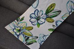 Bieżnik 42 x 140cm Niebieskie kwiaty