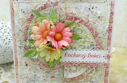 Kartka  dla Kochanej Babci