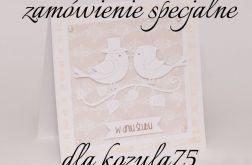 Zamówienie specjalne-zestaw 10 zaproszeń na ślub