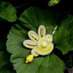 Kolczyki sutasz Lemon Dragonfly