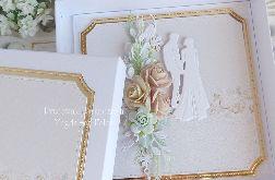 Kartka ślubna w pudełku 314