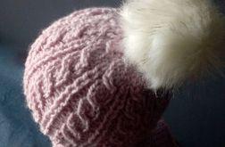 ciepła czapka alpaka