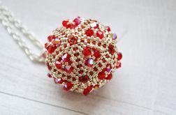 Czerwona kryształowa kula