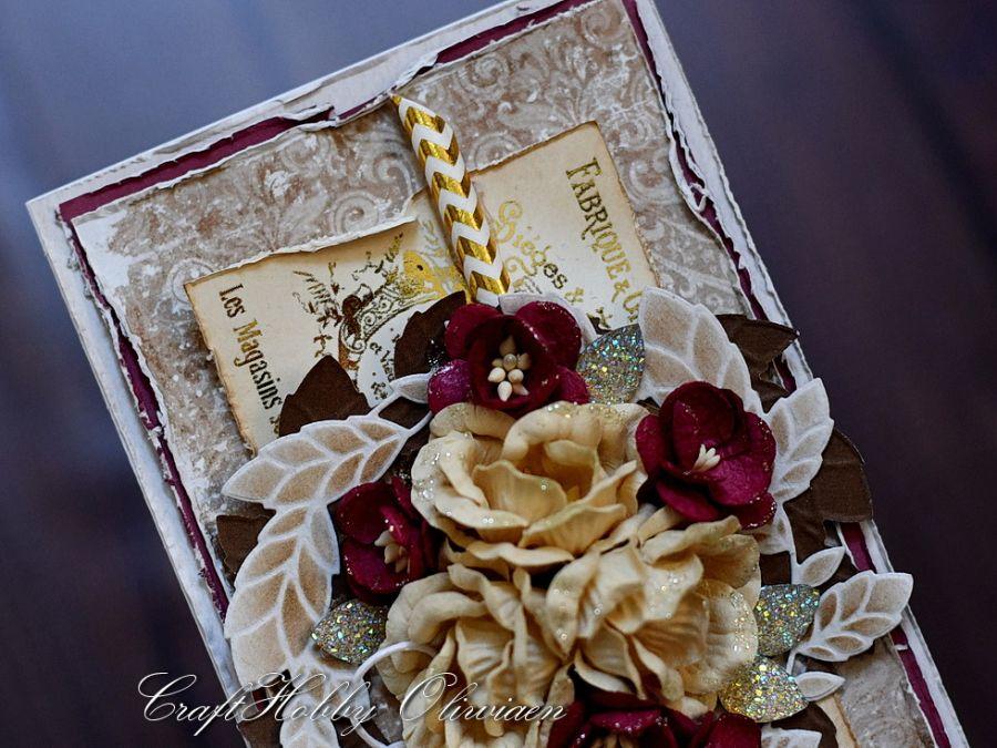 W dniu ślubu - złoty vintage