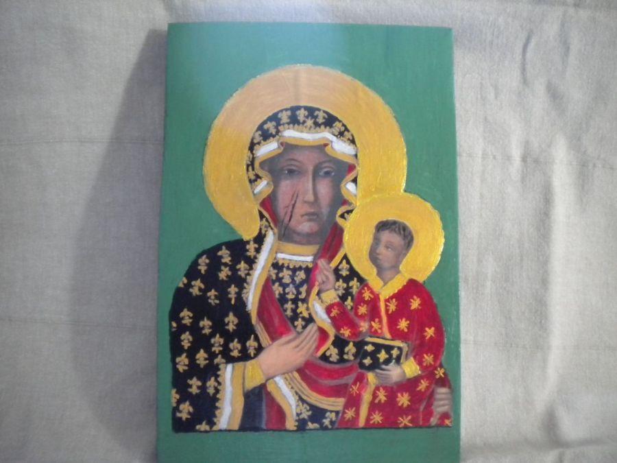 Ikona - Matka Boża Częstochowska