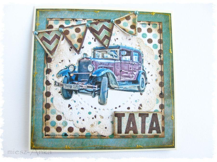 Wyjątkowa KARTKA dla TATY - 3 - TATA, urodziny, imieniny