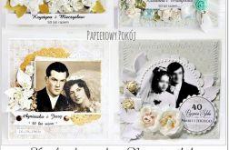 Kartka ślubna z fotografią
