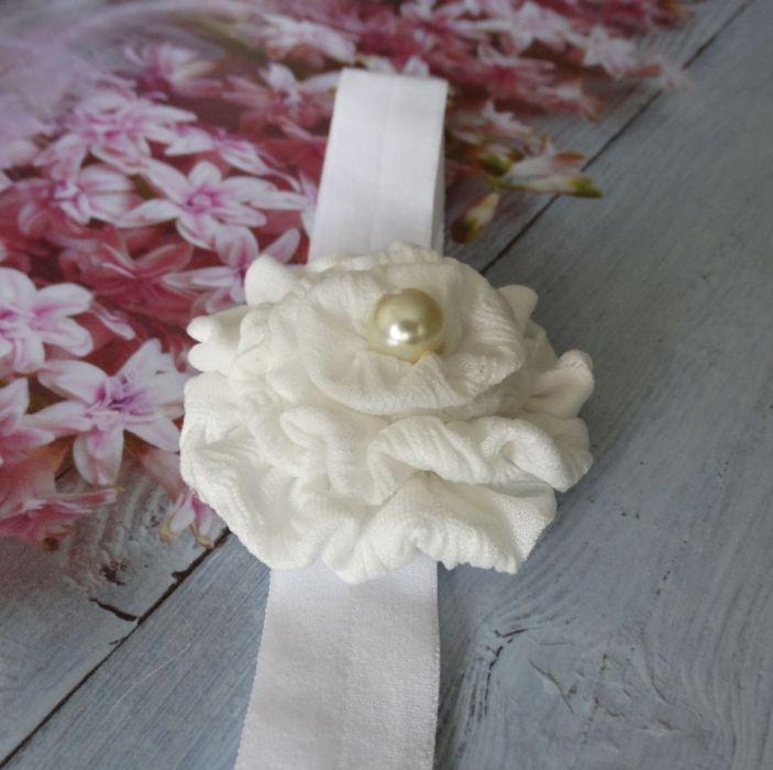 Opaska niemowlęca kwiatek